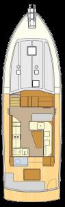 Alaska 44 Main Deck
